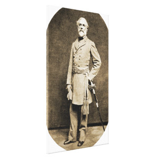 1863プリントのロバートE.リー概要 キャンバスプリント