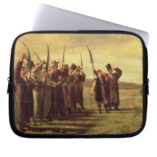 1863年の暴動のポーランドのInsurrectionists (油 ラップトップスリーブ