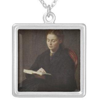 1863年読むこと シルバープレートネックレス