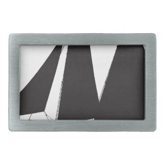 1864試験技術-贅沢なfernandes 長方形ベルトバックル
