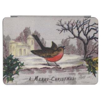 1865年頃: 昔ながらのなクリスマスのロビン iPad AIR カバー