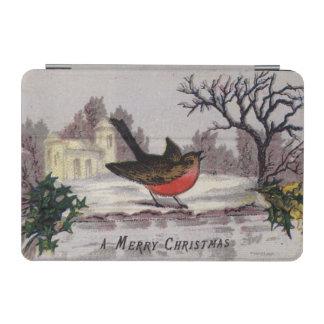 1865年頃: 昔ながらのなクリスマスのロビン iPad MINIカバー