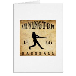 1866年のIrvingtonニュージャージーの野球 カード