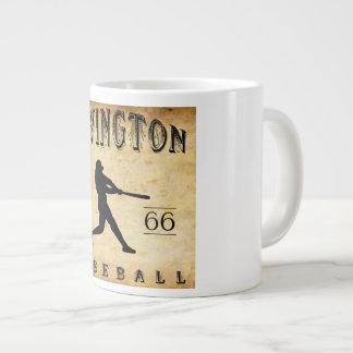 1866年のIrvingtonニュージャージーの野球 ジャンボコーヒーマグカップ