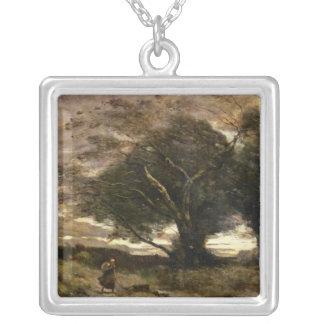 1866年突風 シルバープレートネックレス