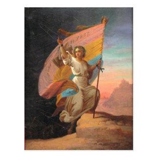 1866年2月11日-モダンなルーマニアGheorghe ポストカード