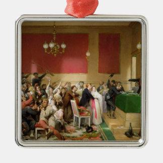 1871年のパリのコミューンの下の結婚式 メタルオーナメント