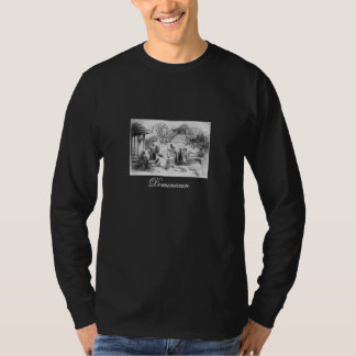 1871年頃古代ドミニカ共和国の絵画 Tシャツ