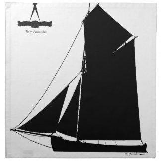 1873年のMedway Peterboat -贅沢なfernandes ナプキンクロス