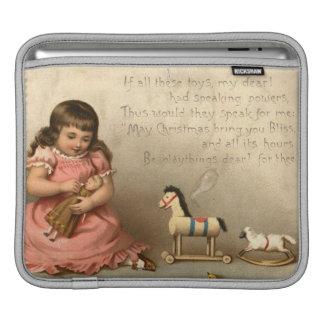 1873年頃: クリスマスの挨拶状 iPadスリーブ