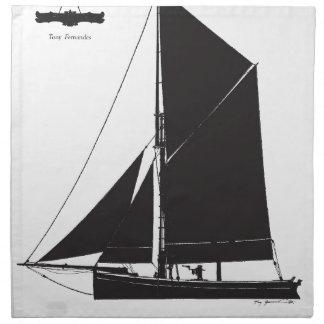 1873年Bawley -贅沢なfernandesの ナプキンクロス
