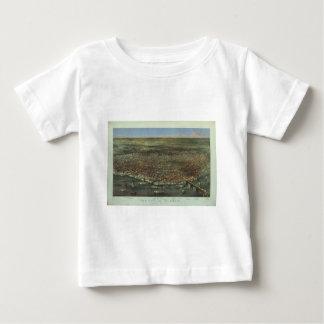 1874年からのセントルイスミズーリ市 ベビーTシャツ