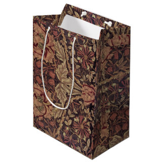 1876年のヴィンテージのウィリアム・モリスのハニーサックル ミディアムペーパーバッグ