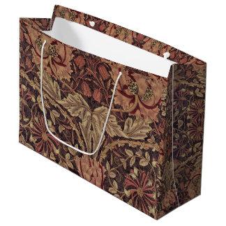 1876年のヴィンテージのウィリアム・モリスのハニーサックル ラージペーパーバッグ