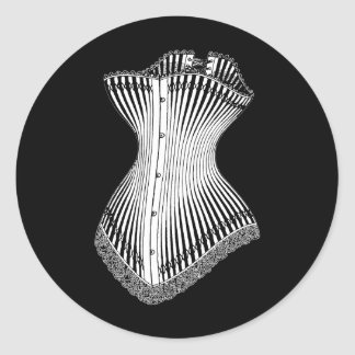 1878年のコルセット ラウンドシール