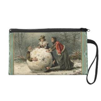 1879年頃: 雪の2人の女性ロール人 リストレット