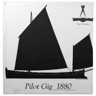 1880試験ギグ-贅沢なfernandes ナプキンクロス