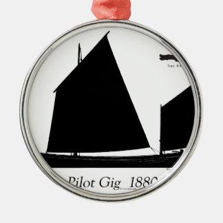 1880試験ギグ-贅沢なfernandes メタルオーナメント