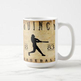1883年のクインシーイリノイの野球 コーヒーマグカップ