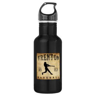 1883年のトレントンニュージャージーの野球 ウォーターボトル