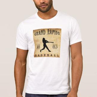 1883年のGrand Rapidsミシガン州の野球 Tシャツ