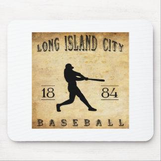 1884ロングアイランド都市ニューヨークの野球 マウスパッド