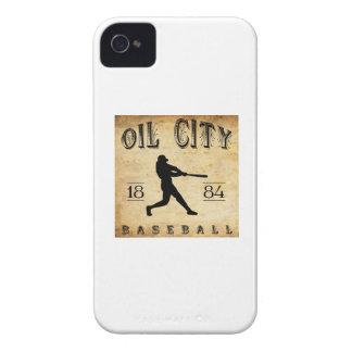 1884匹の油都市ペンシルバニアの野球 Case-Mate iPhone 4 ケース