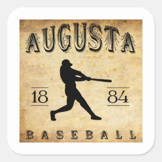 1884年のオーガスタジョージアの野球 スクエアシール