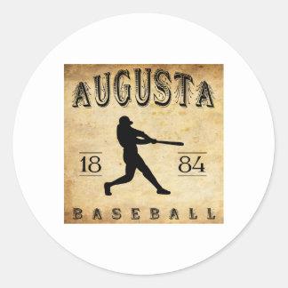 1884年のオーガスタジョージアの野球 ラウンドシール