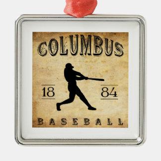 1884年のコロンブスジョージアの野球 メタルオーナメント
