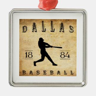 1884年のダラステキサス州の野球 メタルオーナメント