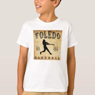 1884年のトレドオハイオ州の野球 Tシャツ