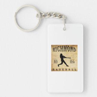 1884年のリッチモンドヴァージニアの野球 キーホルダー