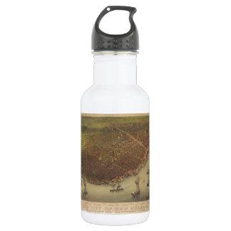 1885年からのニュー・オーリンズルイジアナ市 ウォーターボトル