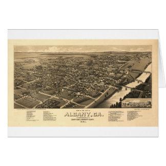 1885年にアルバニージョージア カード