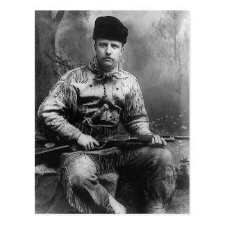 1885年のセオドア・ルーズベルト ポストカード