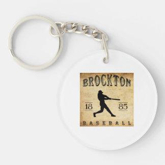 1885年のBrocktonマサチューセッツの野球 キーホルダー