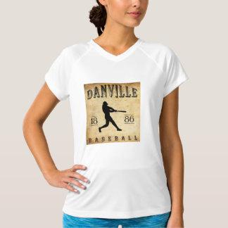 1886年のDanvilleペンシルバニアの野球 Tシャツ