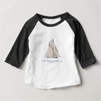 1886年のMayflower ベビーTシャツ