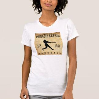 1886年のPoughkeepsieニューヨークの野球 Tシャツ