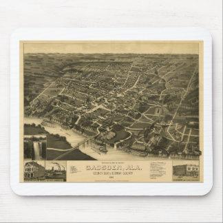 1887年にガズデンアラバマ マウスパッド