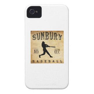 1887年のサンベリーペンシルバニアの野球 Case-Mate iPhone 4 ケース