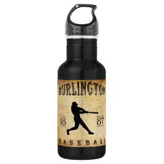 1887年のバーリントンヴァーモントの野球 ウォーターボトル