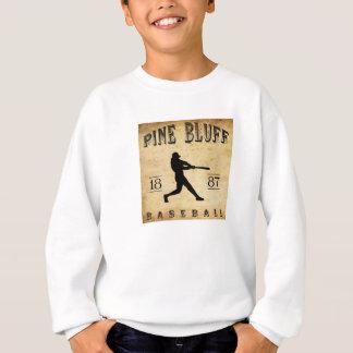 1887年のマツ絶壁のアーカンソーの野球 スウェットシャツ