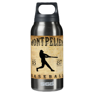 1887年のモントピーリアヴァーモントの野球 断熱ウォーターボトル