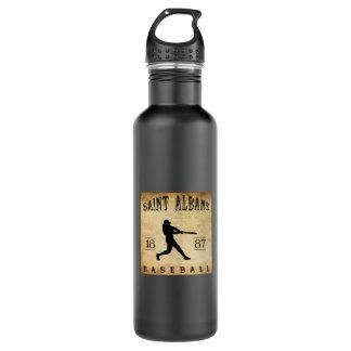 1887年の聖者のAlbansヴァーモントの野球 ウォーターボトル
