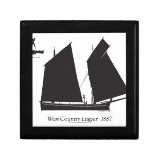 1887西部地方のlugger -贅沢なfernandes ギフトボックス