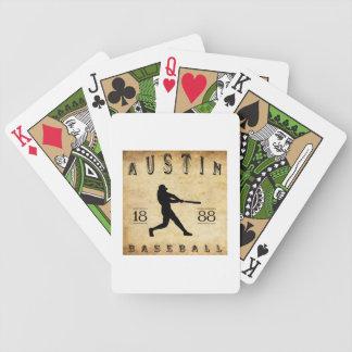 1888年のオースティンテキサス州の野球 バイスクルトランプ
