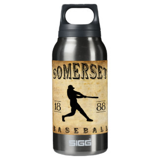 1888年のサマセット州ニュージャージーの野球 断熱ウォーターボトル