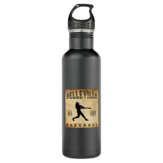1888年のベルビルニュージャージーの野球 ウォーターボトル